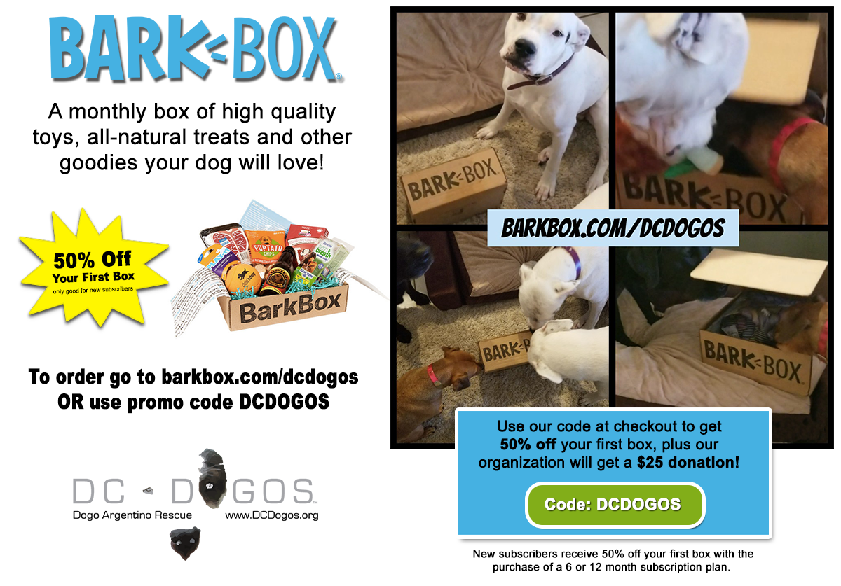 Bark Box Promo